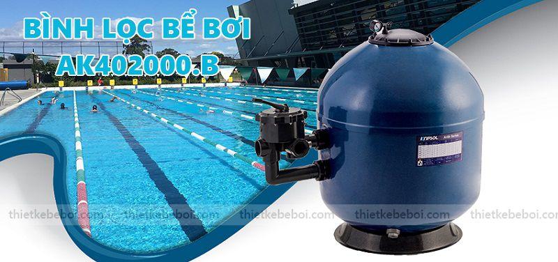 Bình lọc bể bơi
