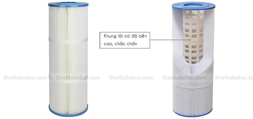 Bình lọc Cartridge Emaux CF100 D225mm
