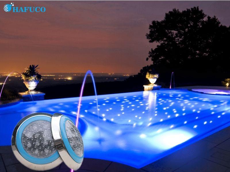 Cấu tạo của đèn bể bơi từ xa